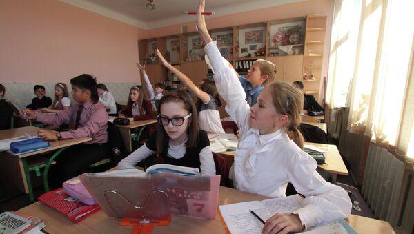Kiev school - Sputnik Azərbaycan