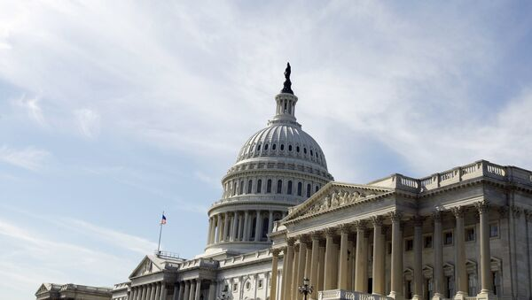 Капитолий, Вашингтон. Фото РИА Новости - Sputnik Азербайджан