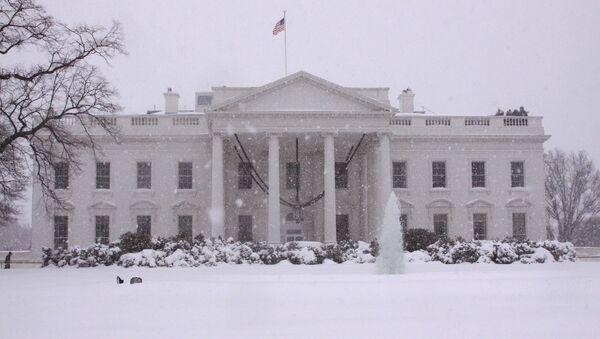 Белый Дом, Вашингтон. Фото РИА Новости - Sputnik Азербайджан