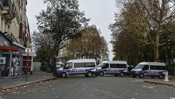 Ситуация в Париже после серии терактов. Архивное фото - Sputnik Азербайджан