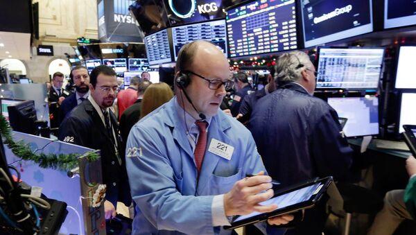 Нью-Йоркская фондовая биржа - Sputnik Азербайджан
