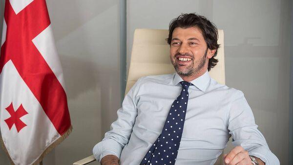 Вице-премьер Грузии, министр энергетики Каха Каладзе - Sputnik Азербайджан