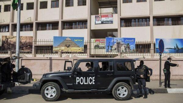 Полиция Египта. Архивное фото - Sputnik Азербайджан