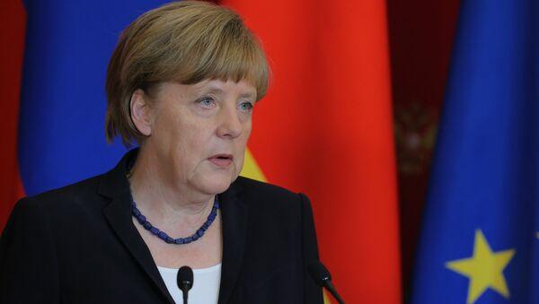 Ангела Меркель. Архивное фото - Sputnik Азербайджан