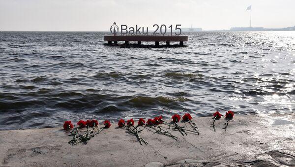 Прошло 40 дней со дня страшной трагедии на 10 платформе месторождения Гюнешли  - Sputnik Азербайджан