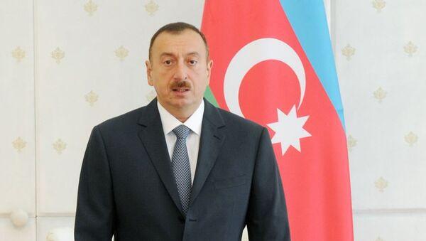 Ильхам Алиев, Президент Азербайджанской Республики - Sputnik Азербайджан