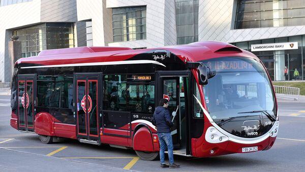 BakuBus автобус - Sputnik Azərbaycan