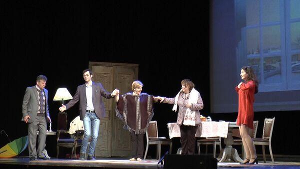 Закулисье: репетиция перед  премьерой Афинских вечеров в Баку - Sputnik Азербайджан