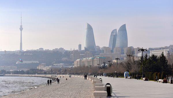 Бакинский национальный приморский парк - Sputnik Азербайджан