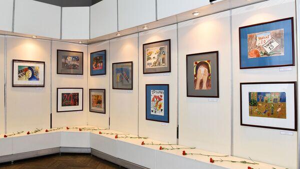 В Музее Независимости открылась выставка Родину возвышают шехиды - Sputnik Азербайджан