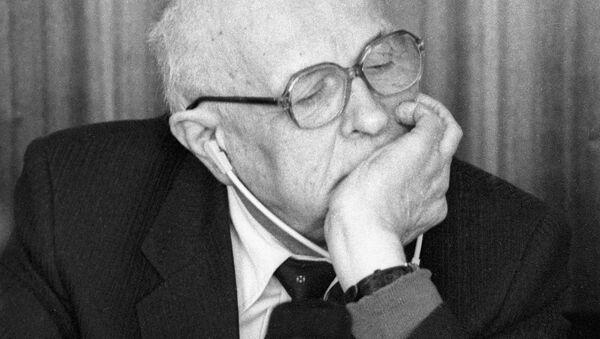 Андрей Дмитриевич Сахаров. Архивное фото - Sputnik Azərbaycan