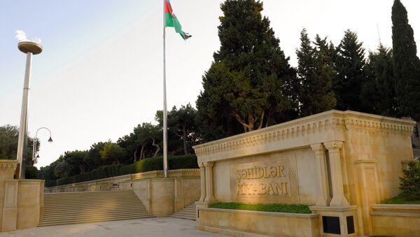Аллея Шехидов в Баку - Sputnik Азербайджан