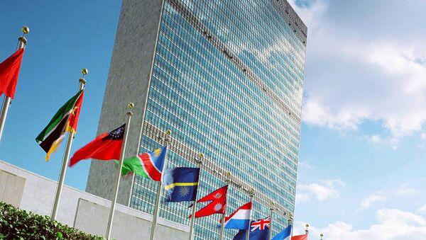 Здание ООН в Нью-Йорке. Архивное фото - Sputnik Azərbaycan