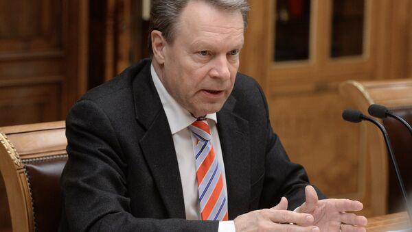 Председатель Парламентской ассамблеи ОБСЕ Иллка Канерва. Архивное фото - Sputnik Азербайджан
