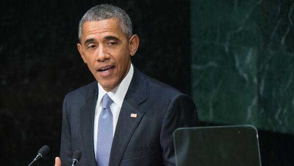 Президент США Барак Обама. Архивное фото - Sputnik Азербайджан