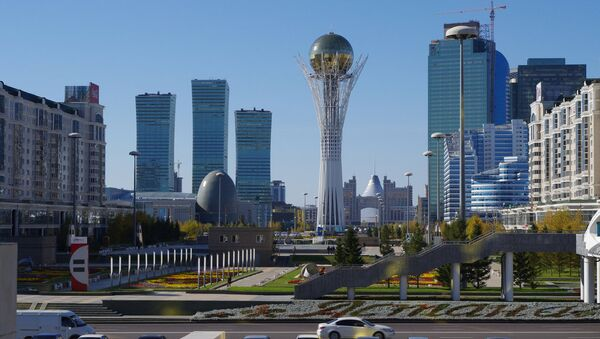 Центр Астаны, Казахстан - Sputnik Азербайджан