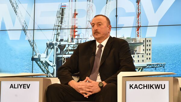 Prezident İlham Əliyev - Sputnik Azərbaycan