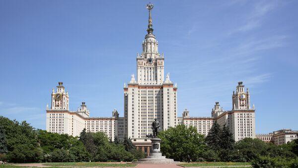 Главное здание МГУ имени М.В. Ломоносова - Sputnik Azərbaycan
