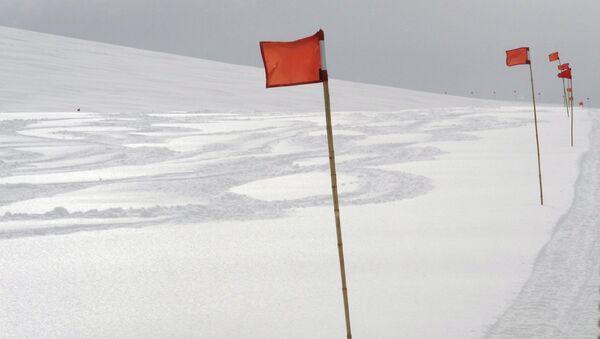 Антарктический пейзаж - Sputnik Азербайджан