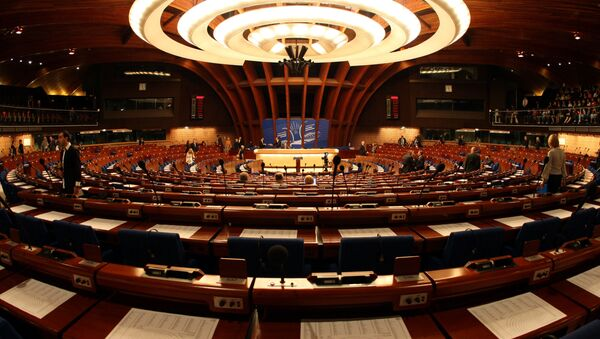 заседание Парламентской ассамблеи Совета Европы, фото из архива - Sputnik Азербайджан