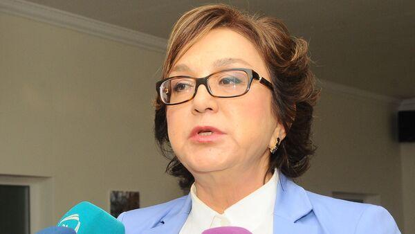 Малейка Аббасзаде, председатель Совета директоров Государственного экзаменационного центра - Sputnik Азербайджан
