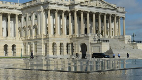 Здание Капитолия. Вашингтон - Sputnik Азербайджан