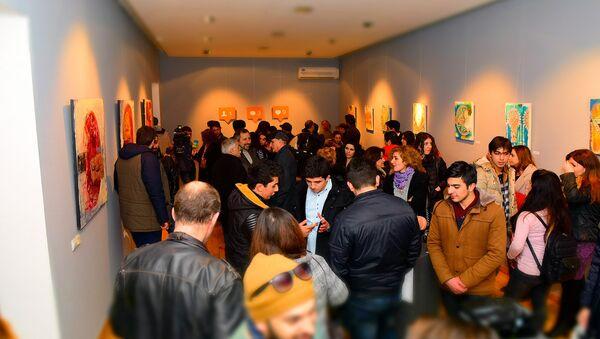 Посетители выставки. Архивное фото - Sputnik Азербайджан