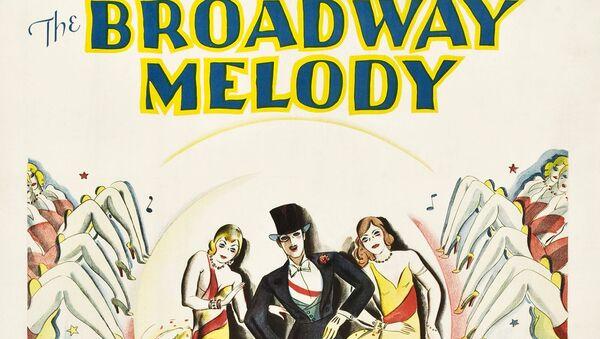 Афиша американского мюзикла Бродвейская мелодия. 1929 год - Sputnik Азербайджан