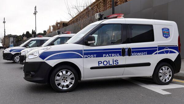 Машины патрульной службы в Баку - Sputnik Азербайджан