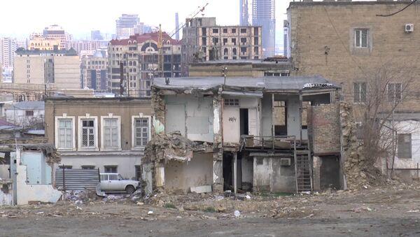 Старые дома на Советской, фото из архива - Sputnik Азербайджан