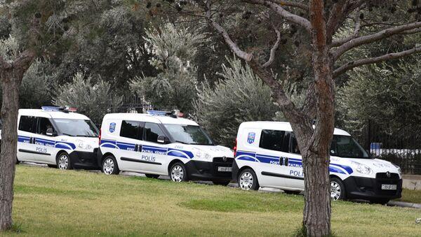 Полицейские машины в Баку - Sputnik Азербайджан