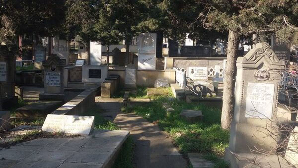 Ясамальское кладбище, фото из архива - Sputnik Азербайджан