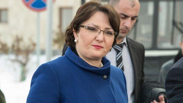 Министр обороны Грузии Тинатин Хидашели - Sputnik Азербайджан