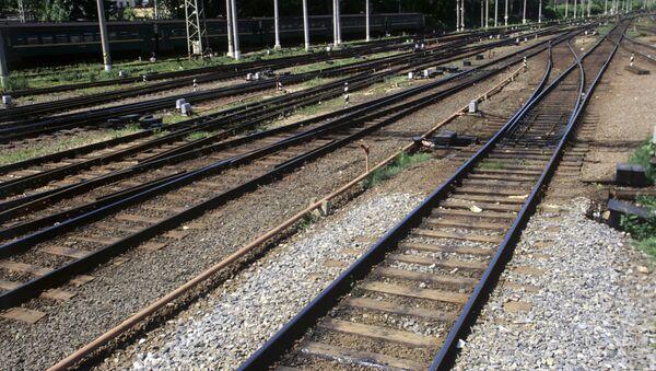 Железнодорожные пути - Sputnik Азербайджан