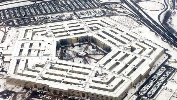 Здание Пентагона в Вашингтоне, архивное фото - Sputnik Азербайджан