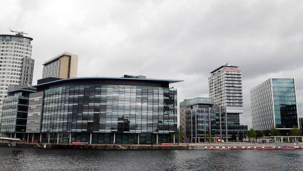 Общий вид на штаб-квартиру BBC - Sputnik Азербайджан