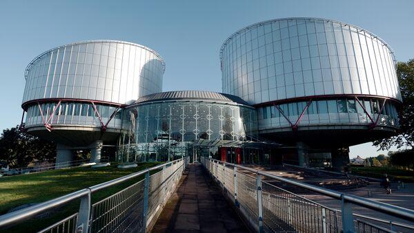 Штаб-квартира Европейского суда по правам человека в Страсбурге - Sputnik Азербайджан