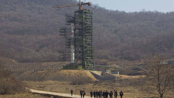 Ракетодром Точхан-ри в провинции Пхёнан-Пукто. Архивное фото - Sputnik Азербайджан