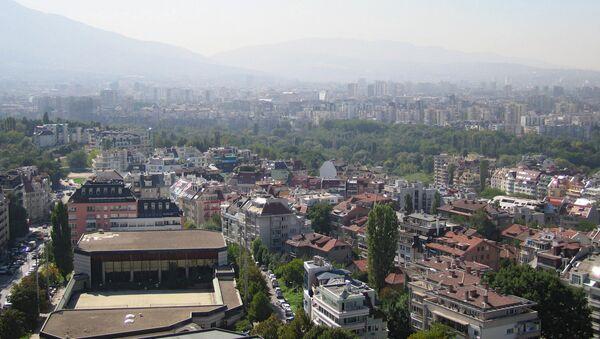 Вид столицы Болгарии Софии - Sputnik Азербайджан