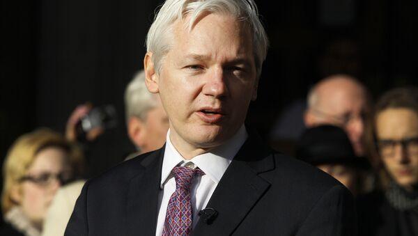 Джулиан Ассанж, основатель сайта WikiLeaks - Sputnik Азербайджан