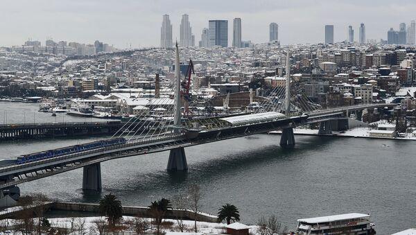 Зима в Стамбуле - Sputnik Азербайджан