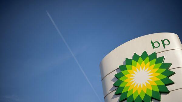 Логотип британской компании BP - Sputnik Азербайджан