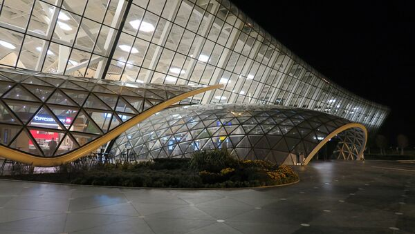 Терминал Международного Аэропорта Гейдара Алиева - Sputnik Азербайджан