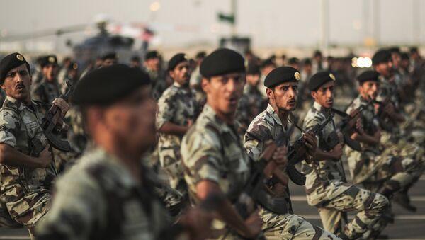 Военнослужащие Саудовской Аравии. Архивное фото - Sputnik Азербайджан