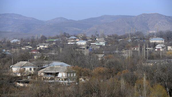 Село Алибейли Товузского района. Архивное фото - Sputnik Азербайджан