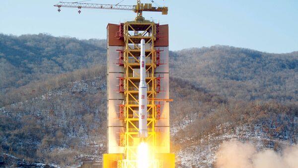 Запуск ракеты - Sputnik Азербайджан