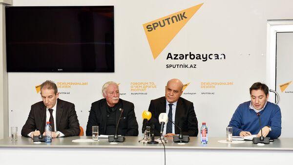 Пресс-конференция по вопросам экологии в пресс-центре агентства Sputnik - Sputnik Азербайджан