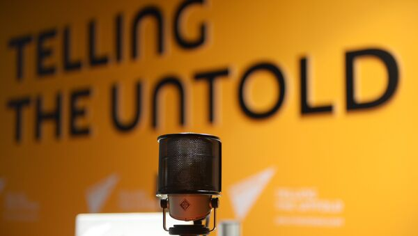 В студии радио Sputnik - Sputnik Azərbaycan