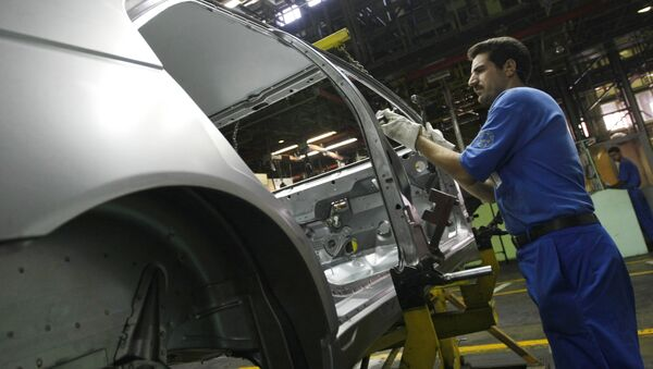 Производство автомобилей в Иране. Архивное фото - Sputnik Азербайджан