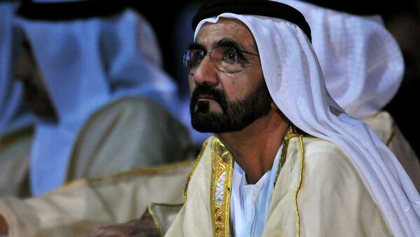 Мохаммед ибн Рашид Аль Мактум, премьер-министр и вице-президент ОАЭ - Sputnik Азербайджан